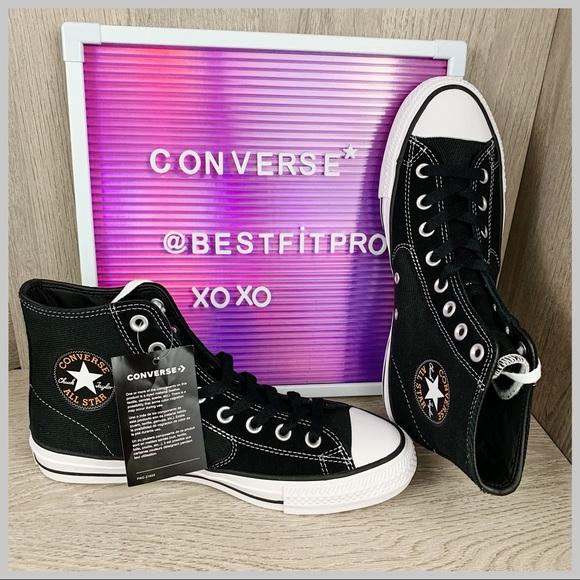 Converse Ctas Pro Sjo Hi Shoes Black